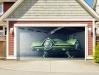 3Д Наклейка на ворота гаража_6