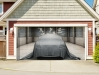 3Д Наклейка на ворота гаража_9